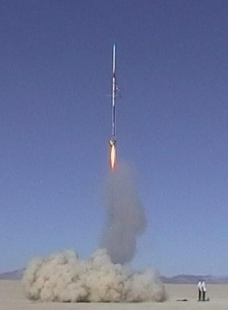 The MARS Deimos Odyssey Rocket - September 2002